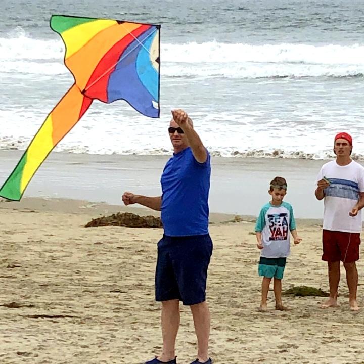 #fly a #kite on the #beach