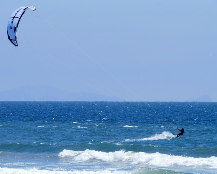 #kite surfing the #waves