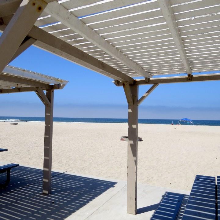 #shade #beach #blueskies