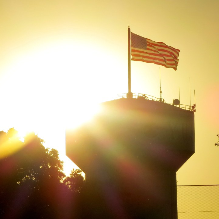 #sunset, #flag, #breezy